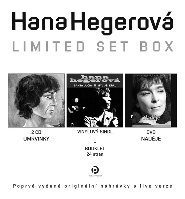 Hana Hegerová – Limited Set Box